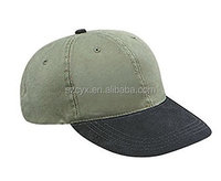 Suede Visor Washed Pigment Dyed Low Profile Baseball Cap