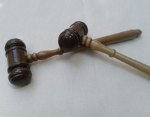 Wooden Handcrafted Wood Gavel Sound Block for Lawyer Judge Auction Sale wood judge hammer