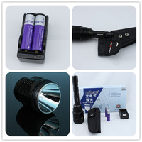 Rechargeable AAA/18650 Battery High Power Outdoor Torch XML T6 Waterproof High Quality led torch flashlight