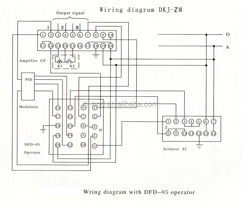 Wiring Diagram Dkjzd Dkjzm2: Rotork Wiring Diagram 3000 At Aslink.org