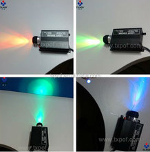 45W LED RGB Optical Fiber Light Source engine with Remote Control DMX Type