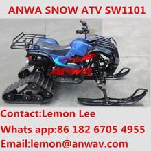 EFI 550CC AUTOMATIC ATV QUAD BIKE WITH SNOW TRACK