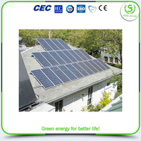 Top level high tensile high watt solar panel 120w