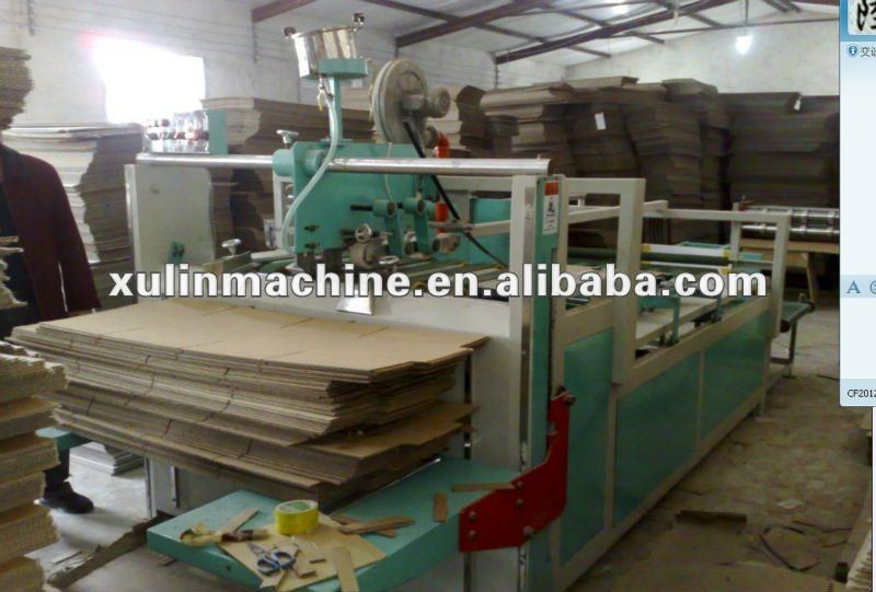 2800mm gluing and folding machine for carton