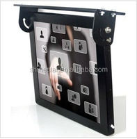 "17"" inch bus LCD wifi 3G internet advertising TV with mounting bracket"