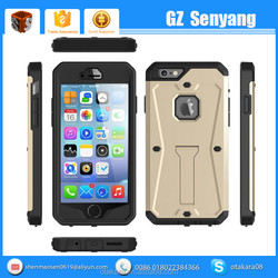 3 in 1 Full Cover Heavy Hybrid Shockproof Phone Case for iphone 6 6s Plus