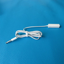 3.5mm Handsfree Headphone Remote Control Adaptor Cable for ipod
