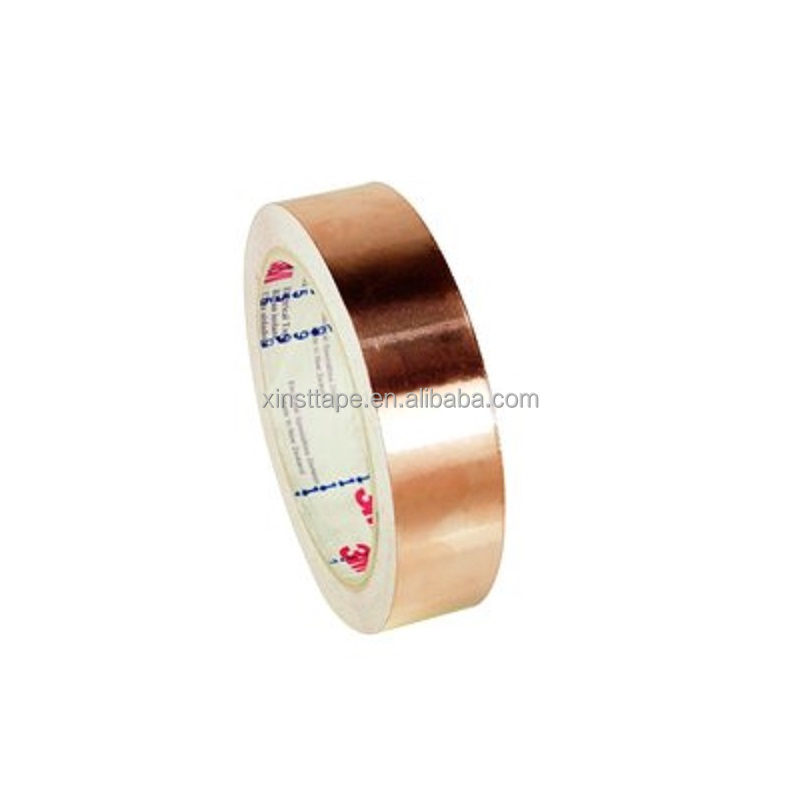 3M 1182 3M1181 Conductive Acrylic PSA Copper Foil Shielding Tape For Grounding And LV Conductor