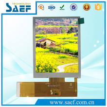 TFT type 3.5 inch 640x480 RGB interface sunlight readable lcd module