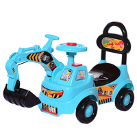 0-7years old can play dig sand baby sliding car, kid 4 wheels car