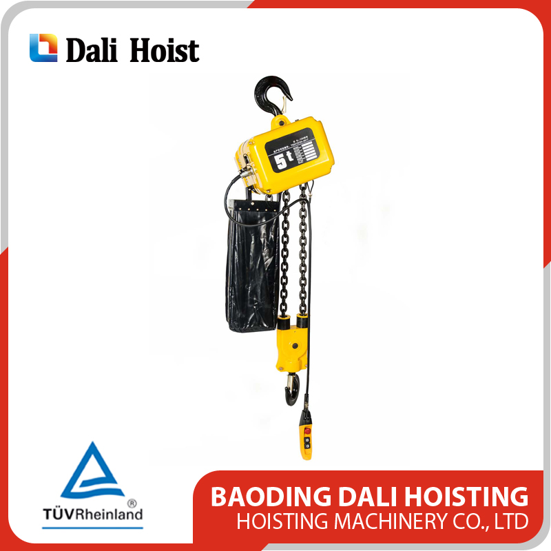 Dali Alibaba China PDH 5T Black Bear Best Selling Electric Chain Pulley Hoist