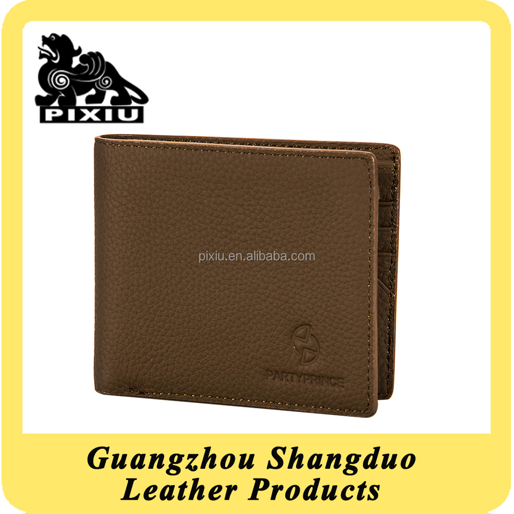 Guangzhou Manufacturer Cheap Custom Leather Design Your Own Wallet