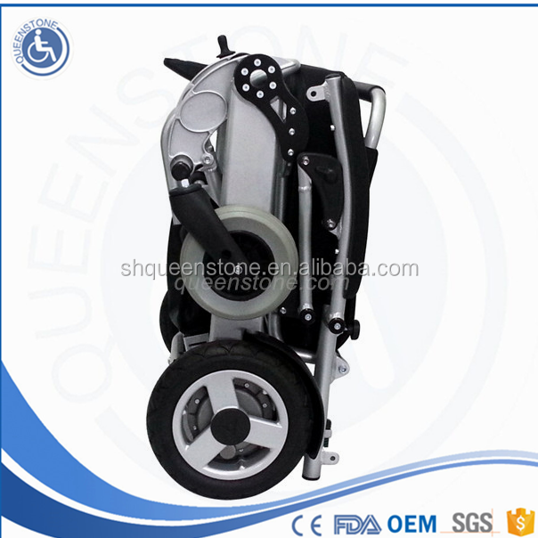 Quick folading for office use electric wheelchair Power Wheelchair battery operated for elderly