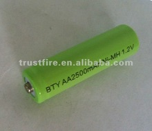 2500ma aa rechargeable ni-mh battery 1.2v trustfire original batteries(OEM)