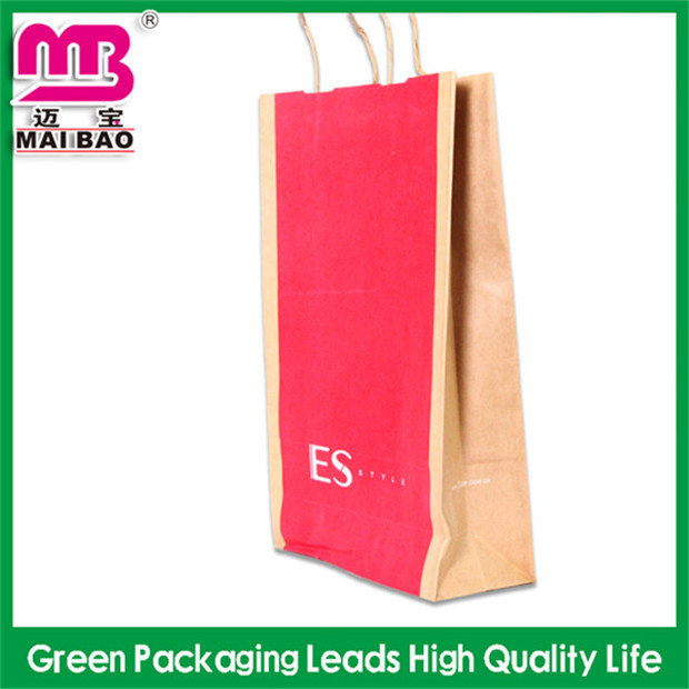 customize printing factory promotion kraft paper bag for milk powder