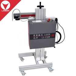 20W table size fiber laser marking machine for metals/plastic/nameplates/bar code/dog tags