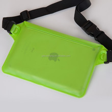 hot selling colorful pvc waterproof waist bag green blue orange
