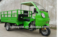 150cc semi-enclosed cargo trike motorcycle