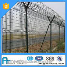 Made In Guangdong AEOMESH High Security barbed wire roll fence