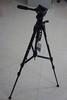 Pro FANCIER WT3730 DSLR Camera Tripod Stand 3 way Pan head 1/4 Screw + bag NEW