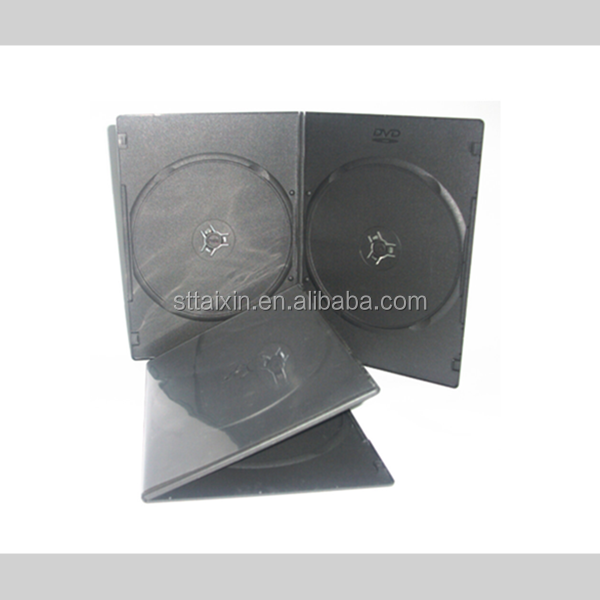 5mm single double pp cd dvd box wedding