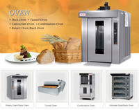 bread oven prices for 32 Trays diesel rotary oven, bakery comercial oven, diesel rack oven
