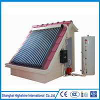 Best price split pressure solar heater pressurized water