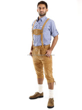 Bavarian Lederhosen shorts,Men German Leather Shorts,kurz Oktuberfest bavarian shorts traditional bavarian shorts
