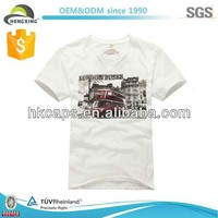Bulk wholesale 100 polyester blank t shirts