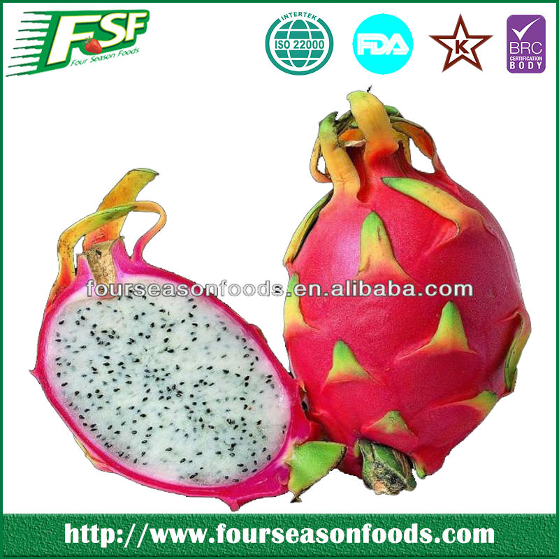 2014 Continued hot frozen red dragon fruit