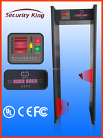 China walk through metal detector door , security archway gates products with alarm