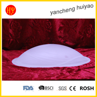 Decorative Glass Lamp Shade Round Glass Light Cover For Drop Lamp