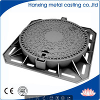 hot sale good quality Arab round manhole cover with frame