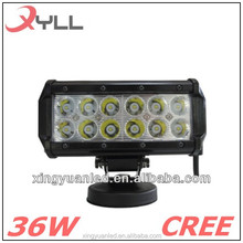 2x 6.5inch 18W CREES ATV Jeep LED Light Bar Spot Work Offroad Driving lights