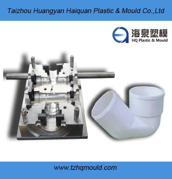 manufacturing plastic PVC fitting mould in taizhou custom mold, pvc hot tub pipe molds made in China