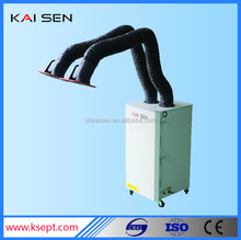 Double suction arms welding dust collector and air filter