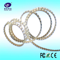 made in China AC110-240V white color flex led rope light with 5-100m long for outdoor light