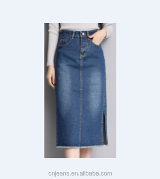 GZY skirts women long denim skirts denim skirt