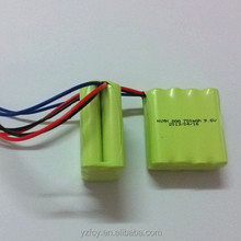4.8v 600mah ni mh aaa/aa battery pack
