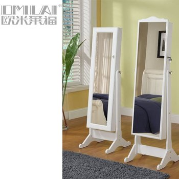 large floor stand dressing mirror
