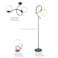 Design high bright torcher floor lamp