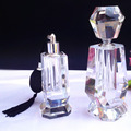 Exquisite creative craft gift furnishing crystal glass perfume bottle