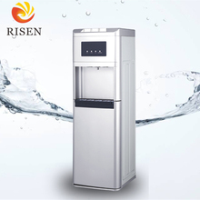 2017 Floor standing compressor and electronic hot cold bottom loaded water dispenser in korea with three taps