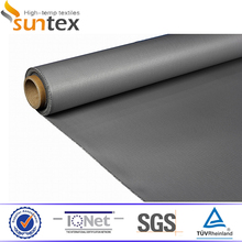0.4mm Silicone Rubber Coated Fiberglass Fabric For Thermal Insulation