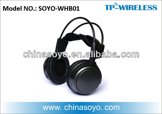 Silent Party 2.4G Digital Wireless Headphone Transmssion distance over than 80M