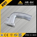 excavator engine parts PC200-8 air intake connector 6754-11-4410 excavator genuine spare parts