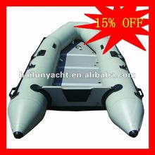 Cheap inflatable fishing boats with South Korea PVC material