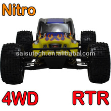 rc big foot truck 1 10 scale AWD off road rc car nitro gas powered rc truck for sale