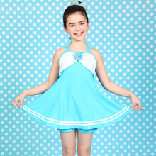 Wholesale fashion sweet child girl bikini hot selling kid's swimwear sexy kids bikini