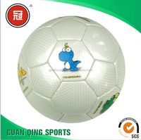Mini Soccer Ball Machine Sewn Balls Lovely animal Printing Inflated Balloon